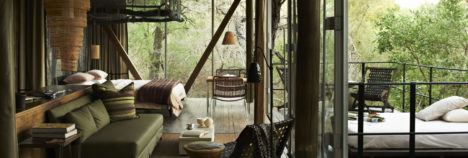 Lush interiors compliment their natural surroundings