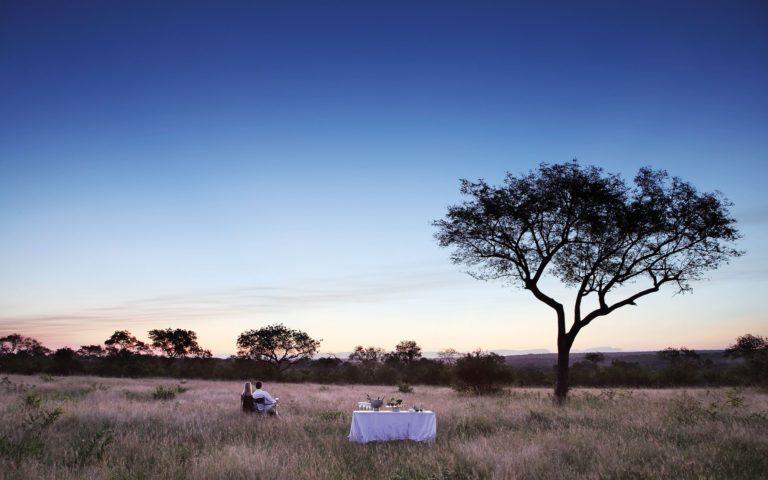 Londolozi Tree Camp Bush Dinner Kruger Park