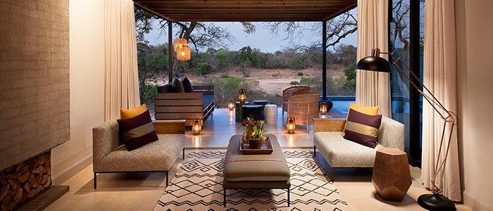 Lions Sands Ivory Lodge Lounge Interior 2 Iconic Africa Luxury Safaris