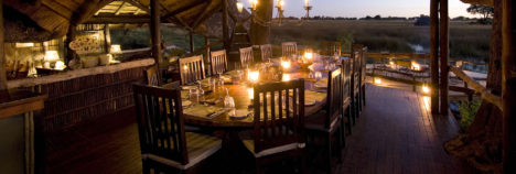 Luxurious retreat's with endless African vistas
