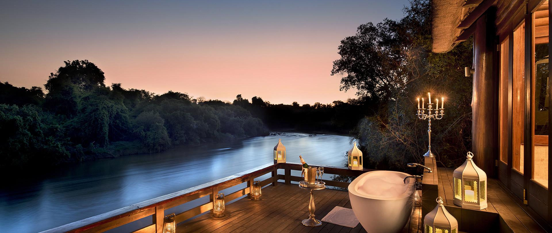 Romance & privacy on the Zambezi River