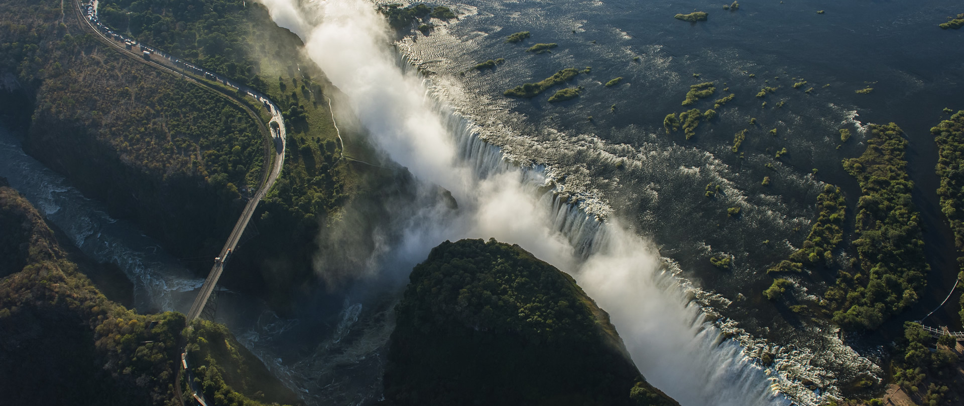 Experience mother nature's rawest power at Victoria Falls