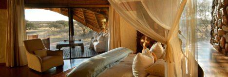 Expansive, opulent suites