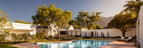 In the heart of South Africa's premier wine region