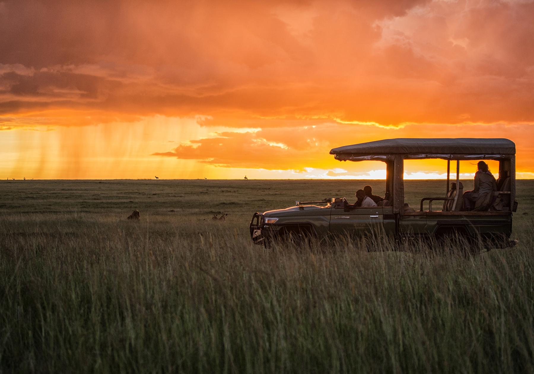 Sunset_Mara plains_3
