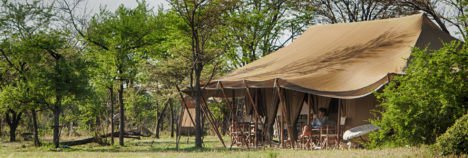 Nothing to separate you and the exquisite African wilderness