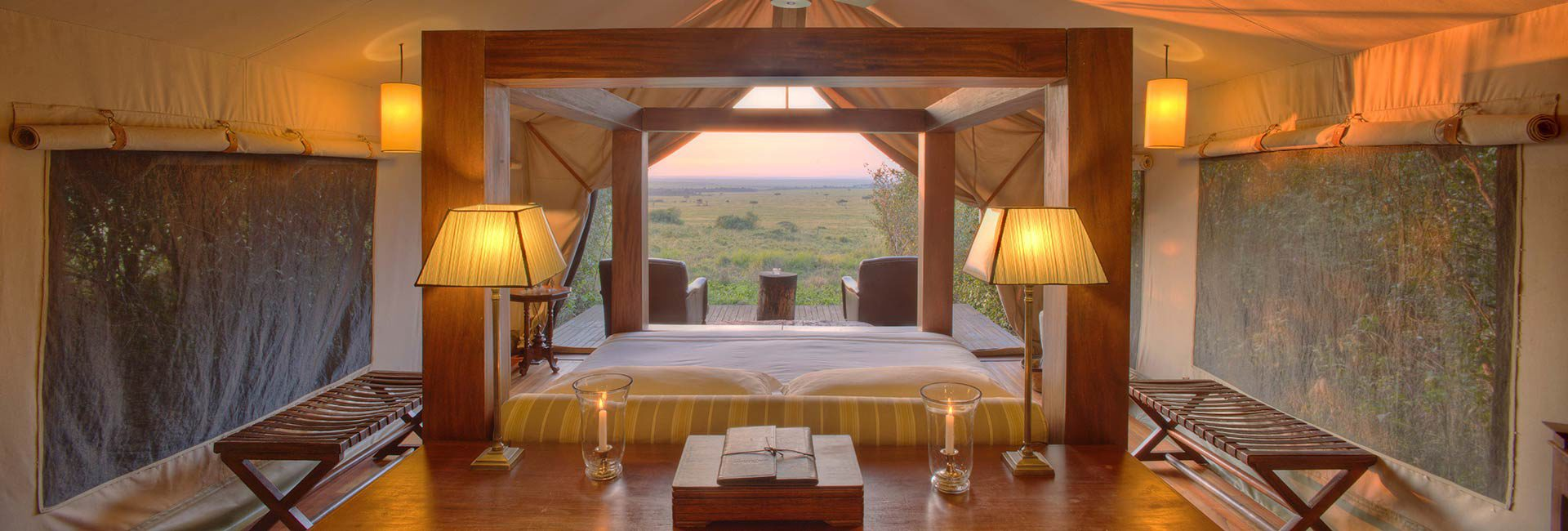 The pinnacle of East Africa hospitality on the edge of the great Mara expanse