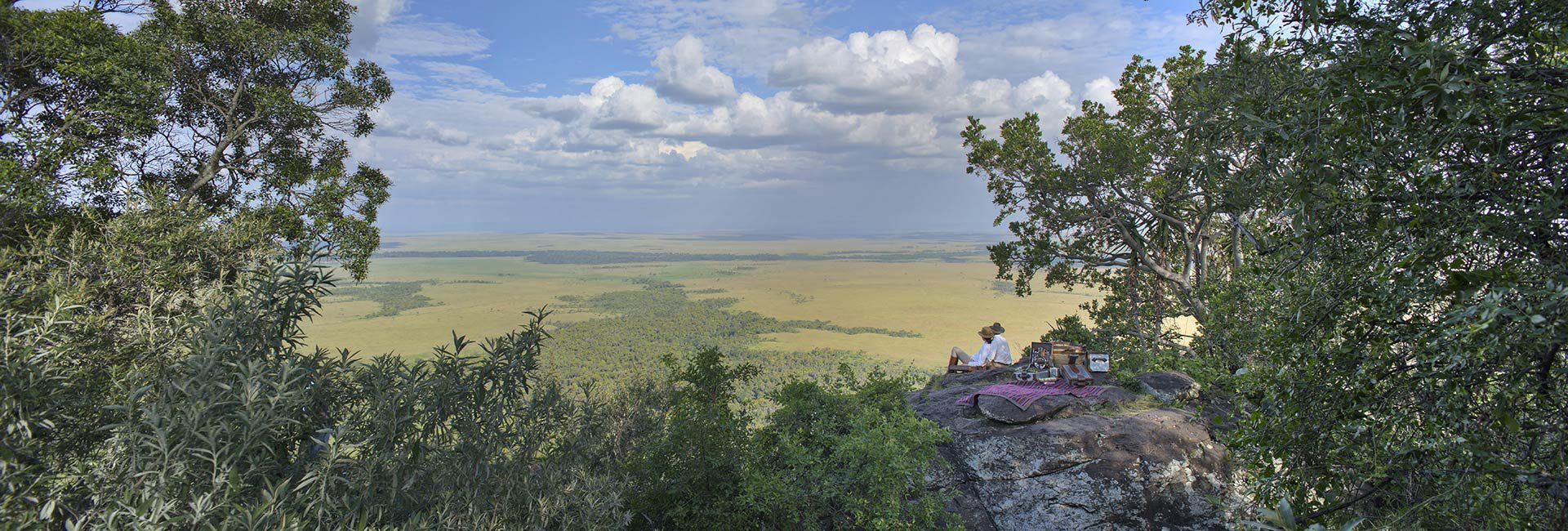 The ultimate 'Out of Africa' experience