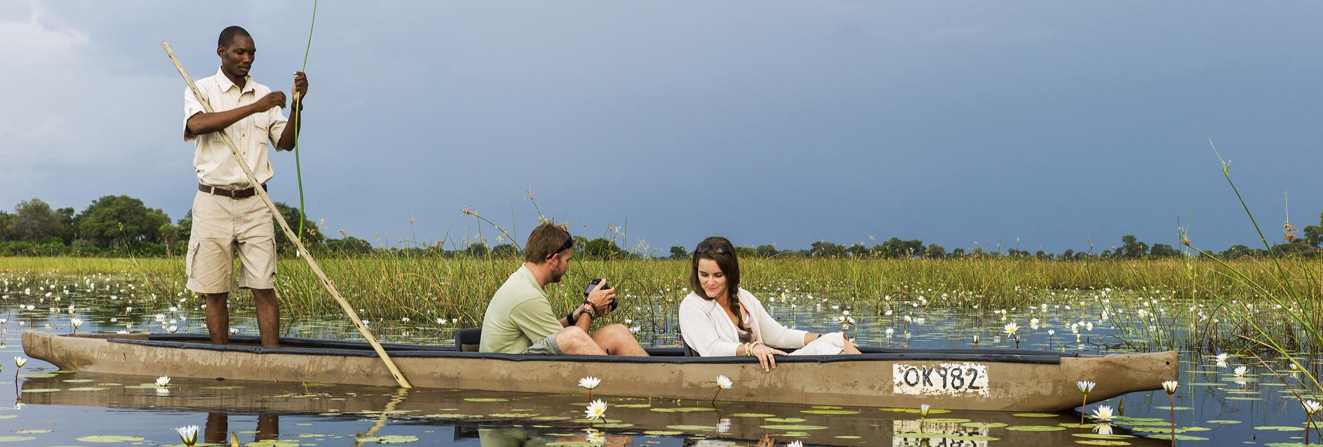 Botswana-Safari-Okavango-Safari-Banner-Mokoro