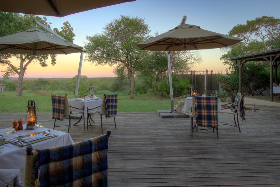 Luxury Kirkmans Camp Deck