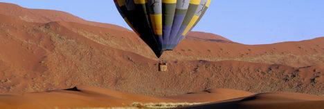Float effortlessly over the exquisite African wilderness