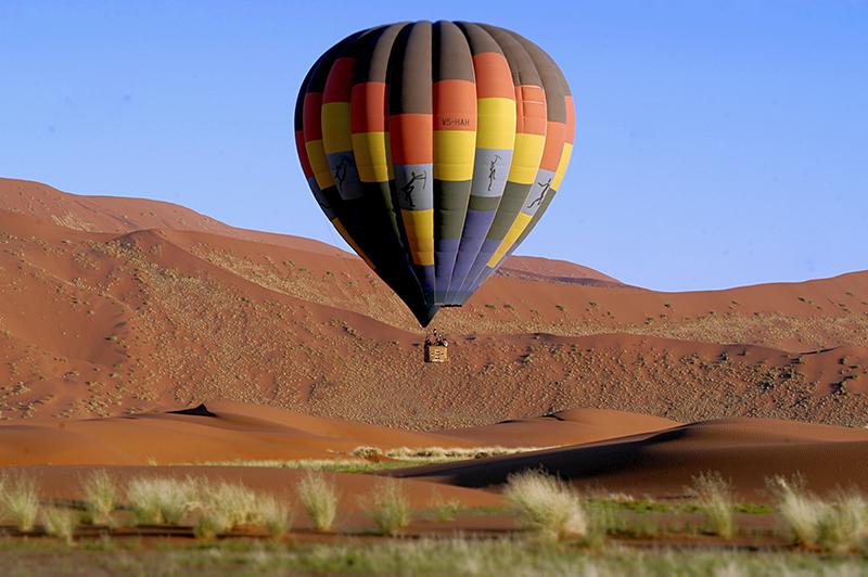 Balloon Safari Iconic Africa Tanzania Desert 2