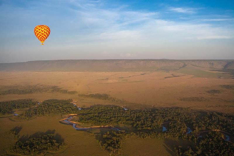 Balloon Safari Iconic Africa Tanzania Desert