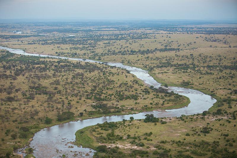 Balloon safari Views River Iconic Africa 2