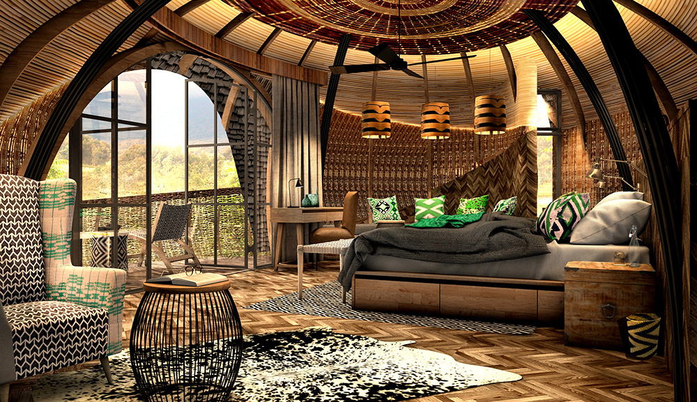 Bisate Lodge Rwanda Gorilla Trekking Rooms