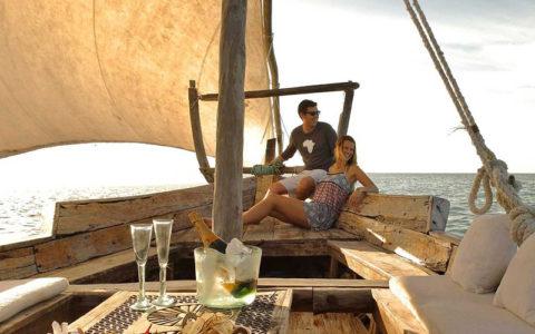 Ocean Safaris Mnemba Island Dhow Iconic Africa