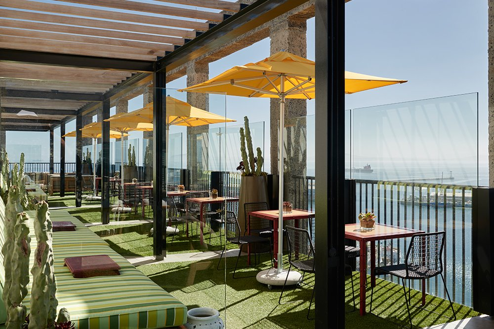 The Silo Cape Town Hotel Rooftop Dinning