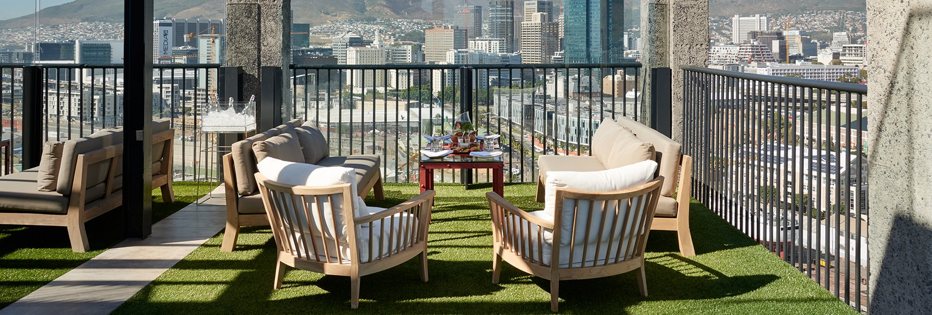 The Silo Cape Town Hotel View Dining Deck