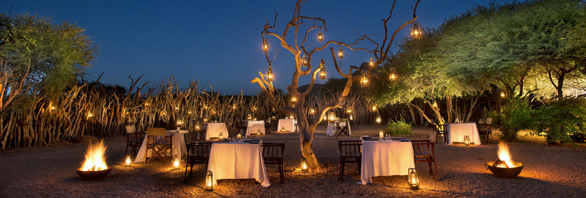 Marataba Safari Lodge Boma Evenings