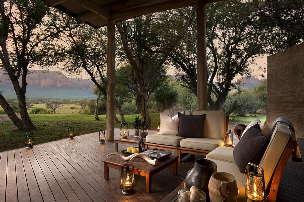 Marataba Safari Lodge Camp Deck