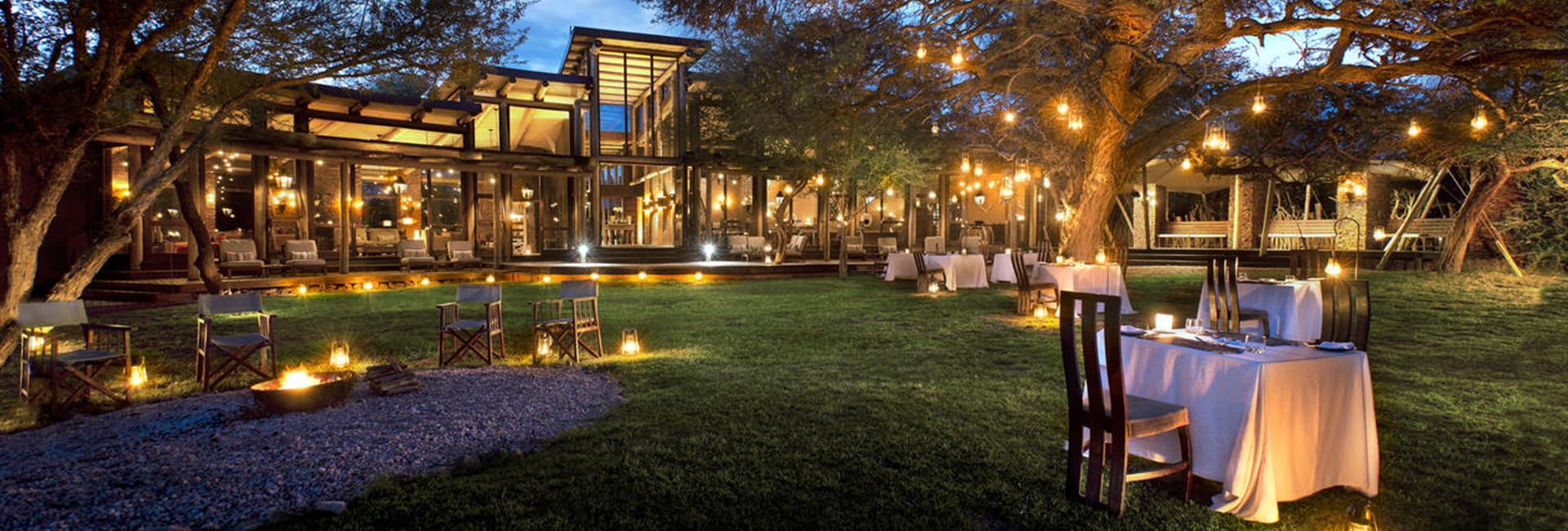 Marataba Safari Lodge Dining Area