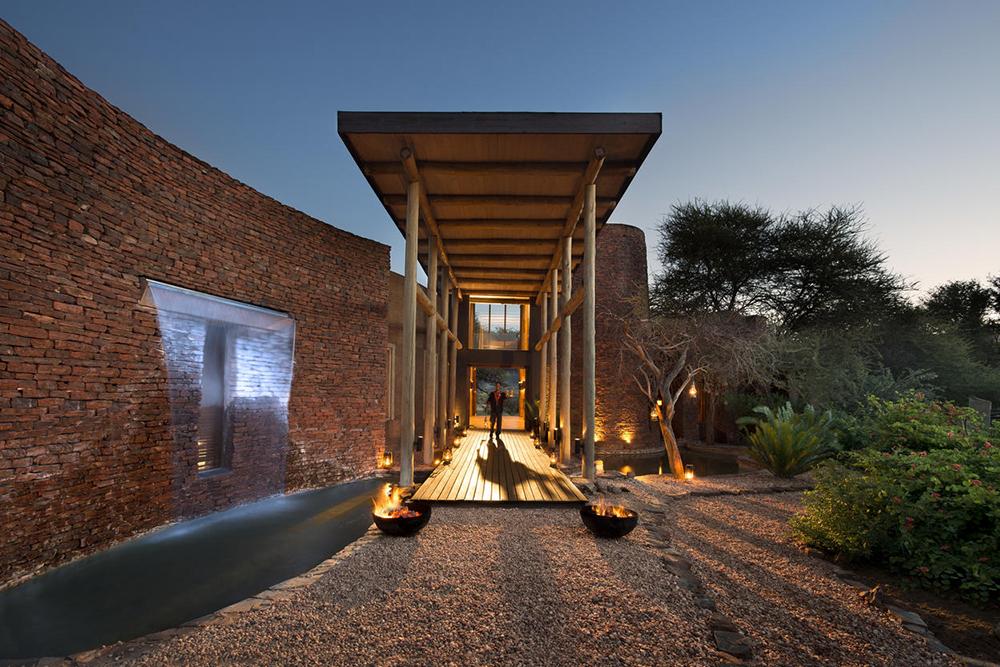 Marataba Safari Lodge Entrance