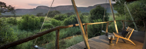 Exquisite views of the Waterberg Mountains