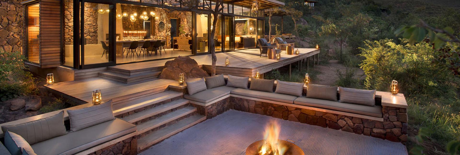 Marataba Trails Lodge Camp Deck Waterberg Safari Lodge