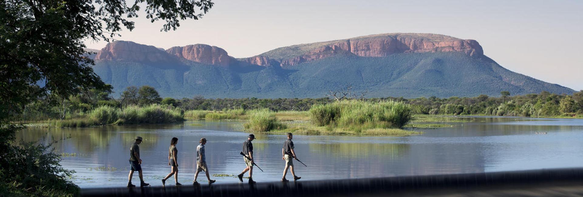 Marataba Trails Lodge Hiking Walking Waterberg
