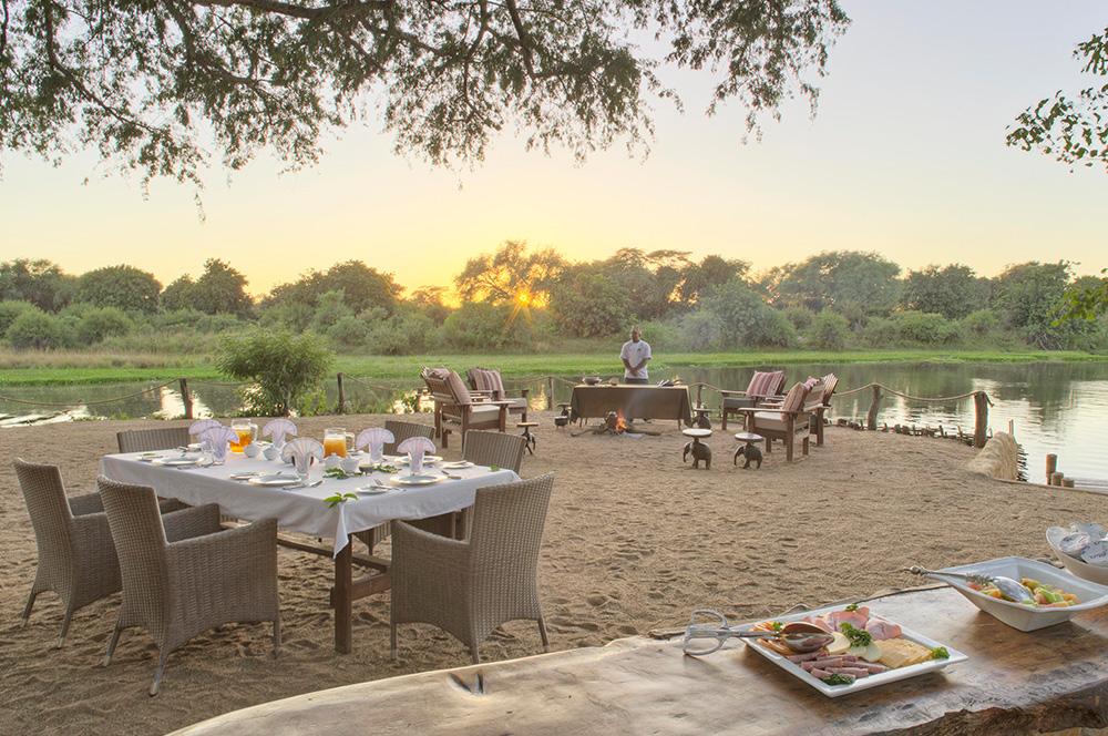 Chongwe Zambia - Set at the confluence of the Chongwe and Zambezi Rivers against a beautiful mountainous backdrop