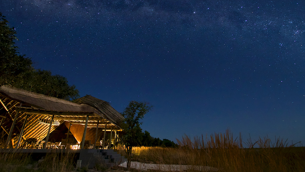 King Lewanika - Gather after your exciting game drives and swap tales under the stars_