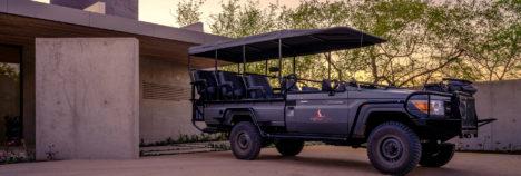 Game drives in electric safari vehicles