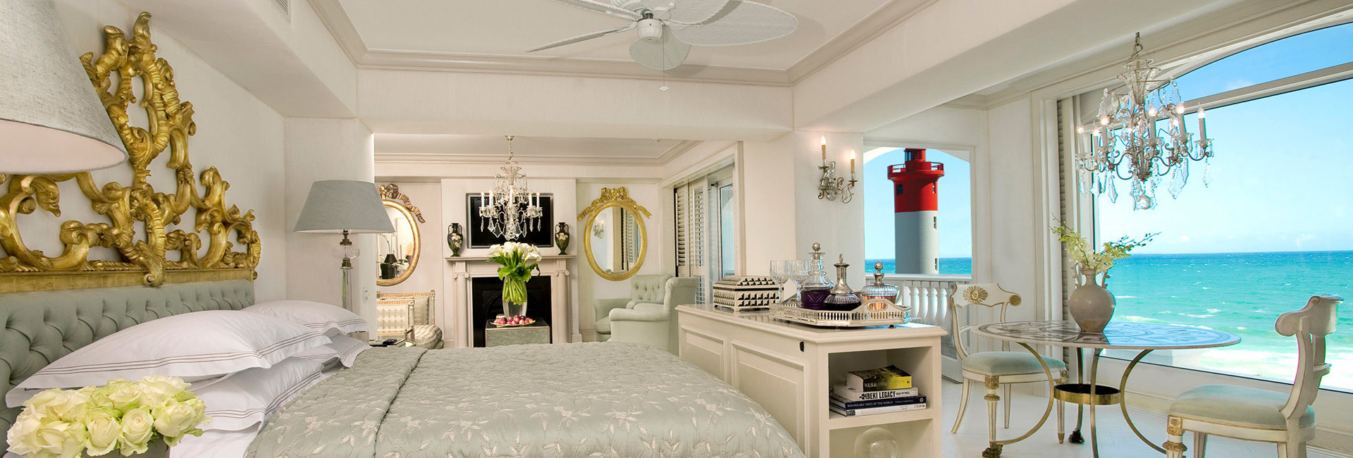 Feel like Royalty in luxurious rooms