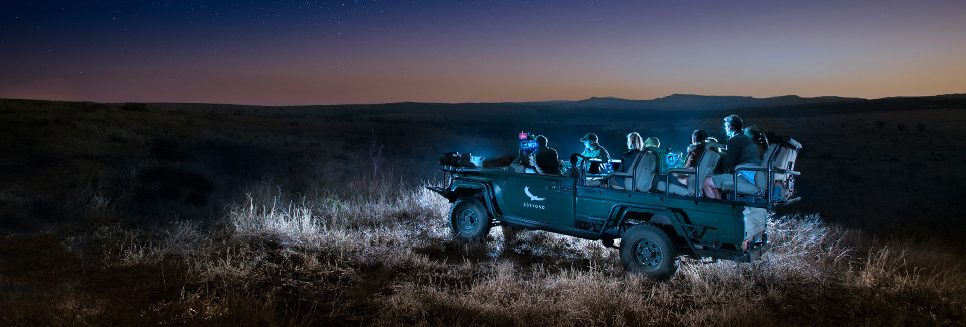 Night eye experience at Phinda Game Reserve